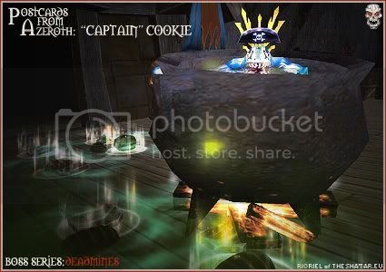 Postcards of Azeroth BOSS SERIES: Captain Cookie, by Rioriel of theshatar.eu