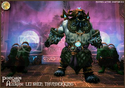 PostcardsFromAzeroth.com: Lei Shen, Thunder King