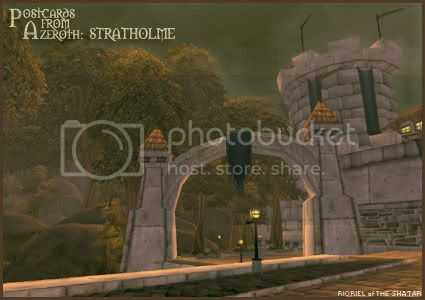 Postcards of Azeroth: Stratholme, by Rioriel Ail'thera